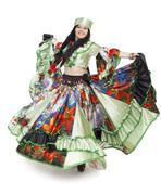 Gipsy dancer Stock Photos