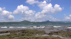 Kenting national park in taiwan Stock Footage
