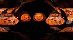 Helloween - Pumpkins on Parade Stock Footage