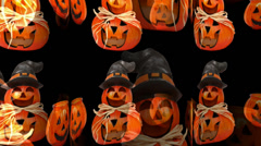 Helloween - Pumpkins on Parade Stock Footage