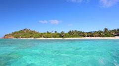 tropical ocean - stock footage