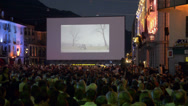 Stock Video Footage of Locarno Film Festival in Switzerland