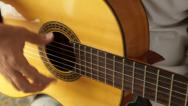 Stock Video Footage of flamenco sound on guitar
