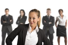 successful business team - stock photo