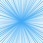 Retro Radial light and ground Background Stock Illustration