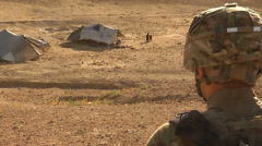 Afghanistan - Soldiers And Civilians 02 Stock Footage