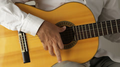 Spanish guitar Stock Footage