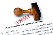 Stock Photo of agreement for appraisement