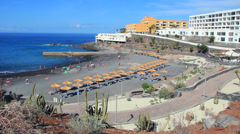 Small beach in Callao Salvaje, Tenerife. Stock Footage