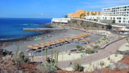 Stock Video Footage of Small beach in Callao Salvaje, Tenerife.