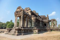 Ancient temple in angkor cambodia Stock Photos