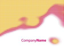 abstract color background - stock illustration