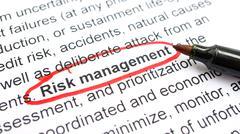 Risk management Stock Photos