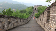 The great wall of China,Beijing Stock Footage