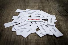 Management concept Stock Photos