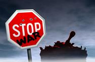 Stock Illustration of Stop war