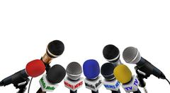 Media conferance mikrofonit Piirros