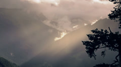 Valley of Austria - stock footage