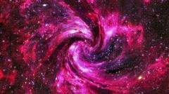 Flight through universe. Stock Footage