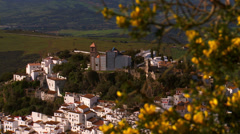 Casares white hill town, Stock Footage