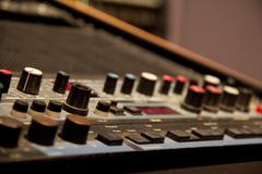 Stock Photo of Sound Equipment