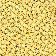 background composed of many golden stars - stock illustration