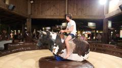 Mechanical Bull Stock Footage