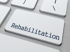 Rehabilitation. Medical Concept. Piirros