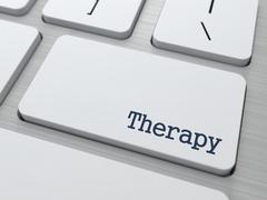 Therapy. Lääketieteellinen käsite. Piirros