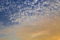 Sunrise sky background Stock Photos