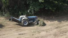 Tractor Clearing Land Stock Footage