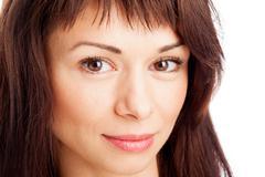 Stock Photo of female portrait closeu up.