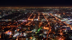 Time Lapse Overview of Los Angeles - 4K - 4096x2304 Stock Footage