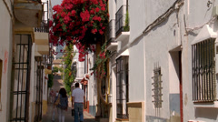 Casco Antiguo, Marbella Stock Footage