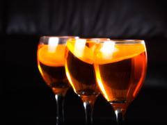 three drinks - stock photo
