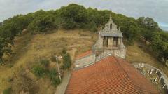 Romanic Church Belfry Stock Footage