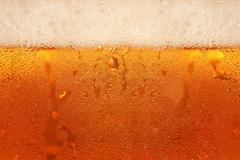 Beer foam. Stock Photos
