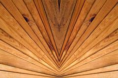 Wooden slats background. Stock Photos