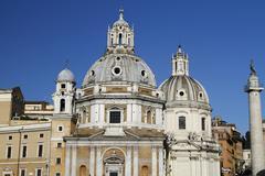 church santa maria di loreto - stock photo