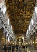 basilica of st. mary of the altar of heaven - stock photo