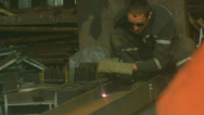 Stock Video Footage of Welder, burner MMA, TIG,