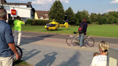 ADAC Helicopter 00 Stock Footage