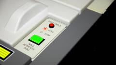 Automatic biochemical analyzer - stock footage
