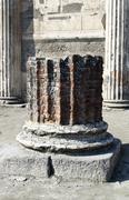 Pompeii archeological ruins Stock Photos