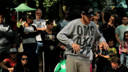Stock Video Footage of B-Boy Breakdance Battle - Medium Sequence 02