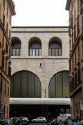 roman buildings - stock photo