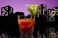 Stock Illustration of metropolis bloody mary cocktail