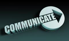 Communicate Stock Illustration