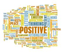 Think positive Stock Illustration