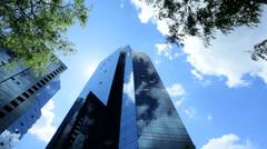 Urban office Skyscraper, USA - stock footage